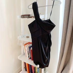 BCBG Max Azria black mini party dress 6